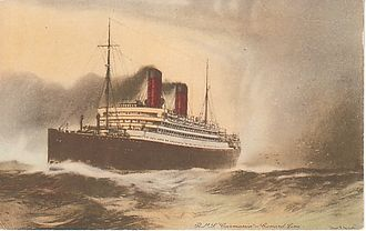 RMS Carmania (1905) - Image: RMS Carmania