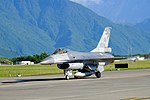 ROCAF F-16A 6674 Taxiing at Hualien Air Force Base 20170923c.jpg