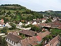 RO SB Axente Sever village seen from Saxon church.jpg