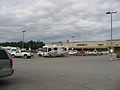 RV in a supermarket parking lot, Kenai Peninsula, Alaska 2010.jpg