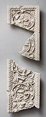 Fragment d'un pilastre ou d'un jambage de porte Ra 23 h