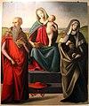 Raffaello piccinelli (attr.), madonna col bambino tra i ss. girolamo e verdiana, 1500-25 ca. da s. girolamo a pietrafitta 01.JPG