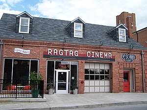 Coca-Cola Bottling Company Building (Columbia, Missouri) - Image: Ragtag cinema