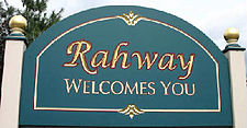 Rahway Welcome Sign