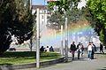 Rainbow at Hochstrahlbrunnen 02.jpg