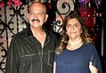 Rakesh Roshan & Pinky Roshan at Rakesh Roshan's birthday bash.jpg
