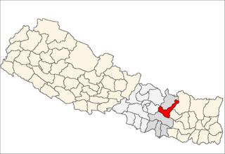 Ramechhap District District in Nepal
