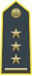 Rank insignia of primo capitano of the Guardia di Finanza.svg