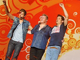 Rascal Flatts in Atlanta, GA on their Live and Loud Tour 2013.JPG
