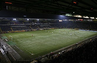 NAC Breda - Rat Verleghstadium during NAC Breda – VVV Venlo in January 2010