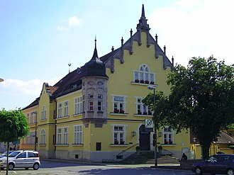 Bogen, Germany - Town hall
