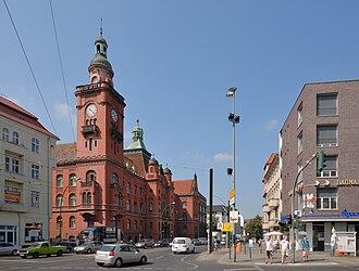 Pankow - Image: Rathaus Pankow (2009)