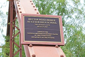 Rector Road Bridge