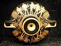 Red-figure kylix by the Euaion Painter, terracotta, Athens, probably 470-460 BCE - Nelson-Atkins Museum of Art - DSC08179.JPG