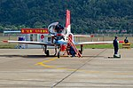 Red Falcon Team JL-8 and its groundcrew.jpg