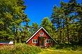 Red swedish cottage, Fjärdlång, Stockholm (Sweden) - panoramio (1).jpg