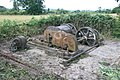 Remains of steam winch, Swannington - geograph.org.uk - 1417675.jpg