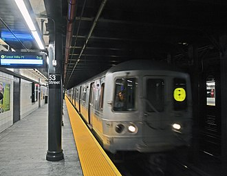 BMT Fourth Avenue Line - The renovated 53rd Street station