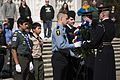 Representatives from Boy Scouts of America lay a wreath at the Tomb of the Unknown Soldier at Arlington National Cemetery 170306-A-DR853-558.jpg