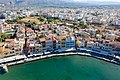 Restaurants in the old town of Chania on Crete, Greece.jpg