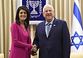 Reuven Rivlin, the President of the State of Israel, held a working meeting with United States Ambassador to the UN Nikki Haley (1541).jpg