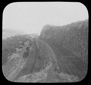 Bhor Ghat - Image: Reversing station or switchback on the Bhor Ghat incline of the Great Indian Peninsula railway, near Bombay LCCN2004707672