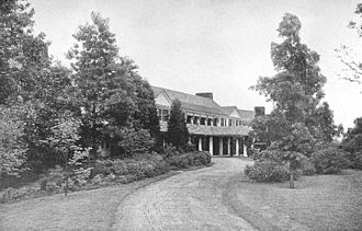 Reynolda House Museum of American Art - View of Reynolda House, ca. 1915
