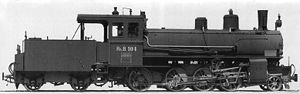 Rhaetian Railway G 4/5 - G 4/5 No. 104, SLM builders' photo from 1904