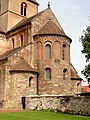 Rheinmünster, Klosterkirche Schwarzach, Teilansicht von Südosten 2.jpg