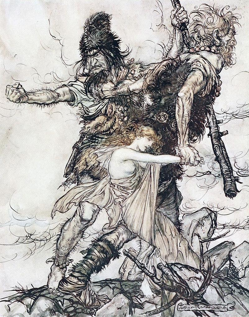 Giants depiction