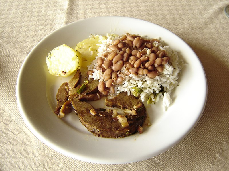 File:Rice and beans, Hotel in Itatiaia.jpeg
