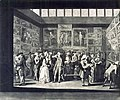 Richard Earlom d'après Charles Brandoin The Exhibition at the Royal Academy of Painting in the year 1771.jpg