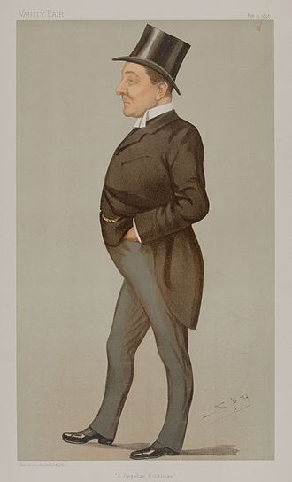Richard Haldane, 1st Viscount Haldane - Haldane caricatured by Spy in Vanity Fair, 1896