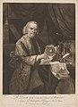 Richard Lovett's portrait by Robert Hancock, published by William Richardson, after Joseph Wright. Mezzotint, late 18th century.jpg