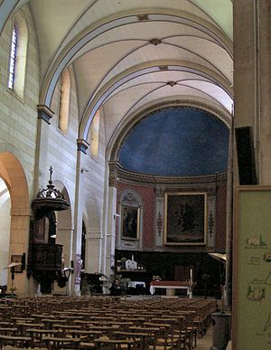Roman Catholic Diocese of Riez - Interior of Riez Cathedral