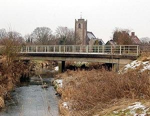 River Itchen, Warwickshire - Itchen at Long Itchington