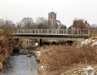 River Itchen, Warwickshire - Itchen at Long Itchington
