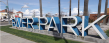 River Park Shopping Center's Sign (Fresno, CA).png