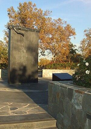 Riverside National Cemetery - The Veterans Memorial at the Riverside National Cemetery
