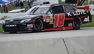 K-Love - McDowell's K-Love NASCAR car
