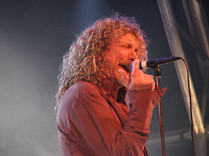 Grammy Award for Best Hard Rock Performance - 1999 award winner, Robert Plant, performing in 2007