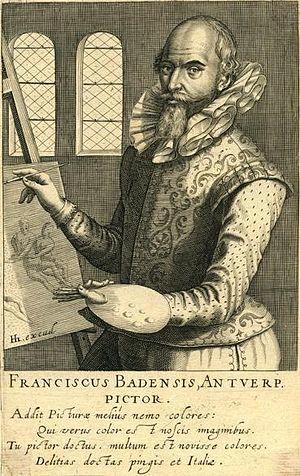 Frans Badens - Portrait of Frans Badens, 1610