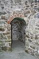 Rocca di Arquata del Tronto - cunicolo murato del torrione.jpg