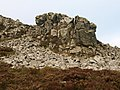 Rock at the Devil's Chair - geograph.org.uk - 1111782.jpg