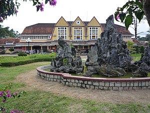 Rock garden at Da Lat Station