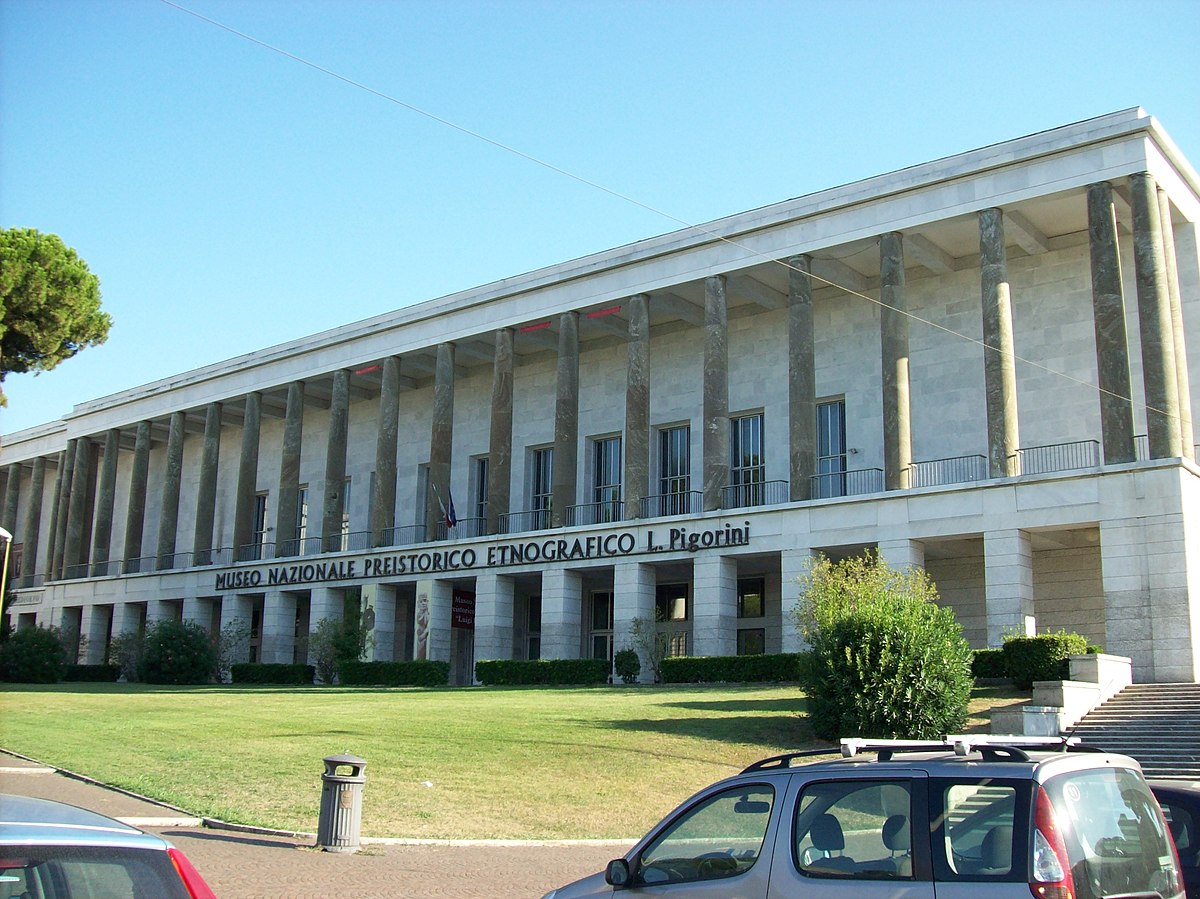 Museo nazionale preistorico etnografico luigi pigorini for Tradizioni di roma