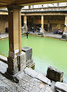 Roman Baths, Bath - Main bath.jpg