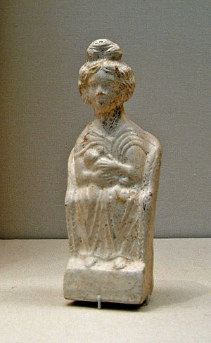 Mater Matuta - Image: Roman terracotta mother goddess 1