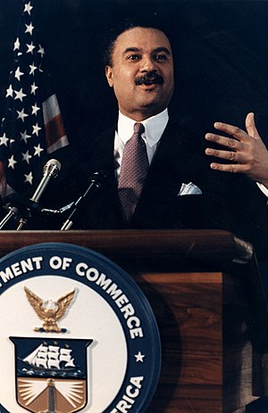 Ron Brown (U.S. politician) - Ron Brown at the podium