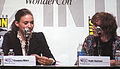 Rooney Mara & Kyle Gallner at WonderCon 2010 2.JPG